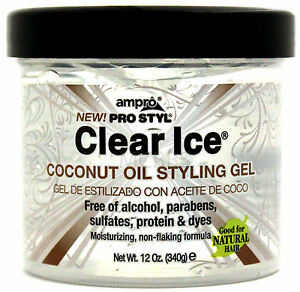 Image Is Loading Ampro Pro Styl Clear Ice Coconut Oil Hair