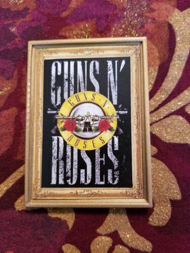 Guns N Roses Handmade Christmas Tree Ornament//Magnet//Dollhouse miniature