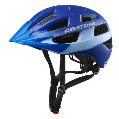 Cratoni Velo-X Fahrradhelm leichter Alltagshelm Radhelm Inlinerhelm Rücklicht