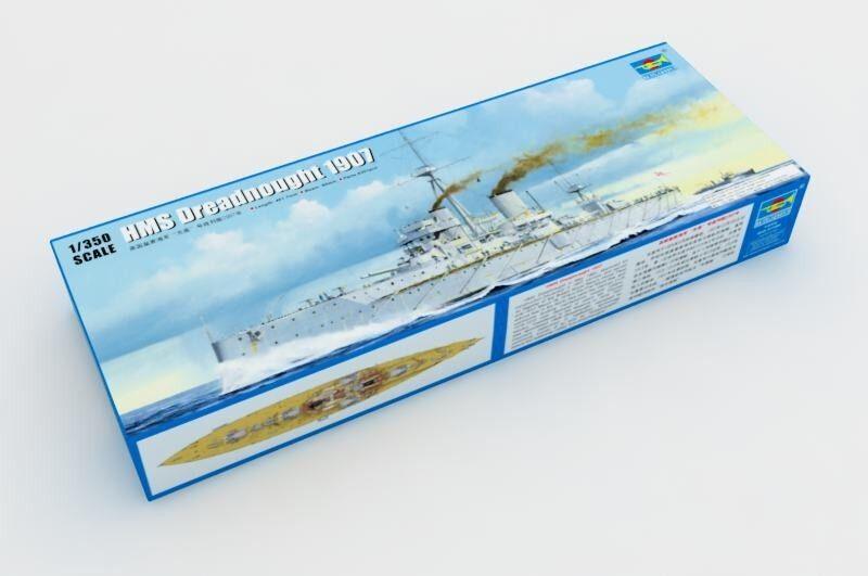 ◆ Trumpeter 1 350 05328 HMS Dreadnought 1907