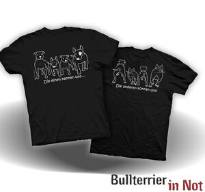 Bullterrier in Not e.V. T-Shirt Listenhund Staff Ami Bulli S-5XL