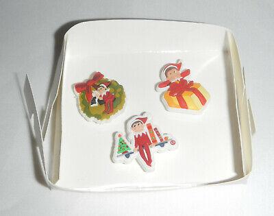 Elf On A Shelf Crocs Shoe Jibbitz Pins Shoe Charms Christmas Lot Set Of 3 Ebay