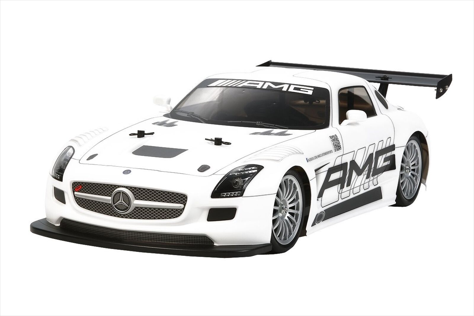 Tamiya 1 10 RC Car Series No.566 Benz SLS GT3 AMG TT-02 Chassis On-Road 58566