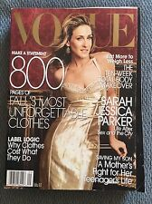 Vogue Magazine September 2005 Sarah Jessica Parker Sex And The City 800 Pages!