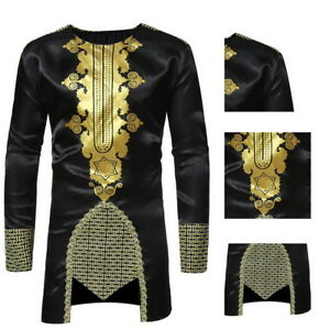 African-Mens-Long-Sleeve-Casual-Shirts-Ethnic-Printed-Slim-Fit-Long-Dress-Shirts