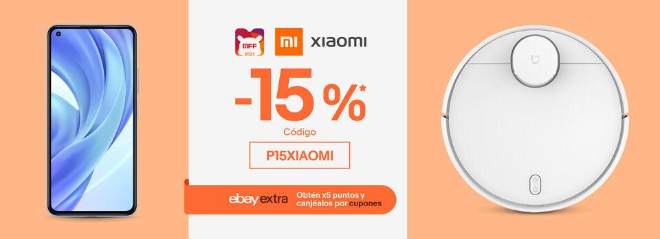 Código P15XIAOMI - Mi Fan Festival: -15%* en Xiaomi