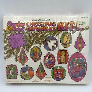 Makit & Bakit Christmas Ornaments Kit II Set of 12 SEALED #270 Vintage 1980 AR
