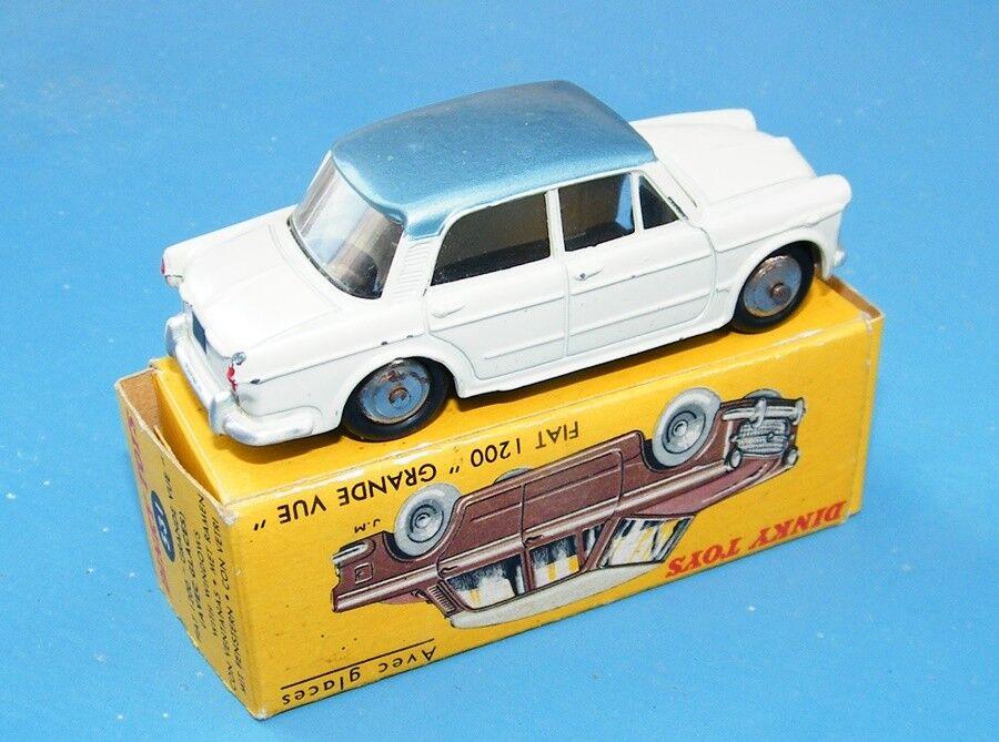 Frenh Dinky Toys 531 fiat 1200 grande vue Crème Argent original ex +