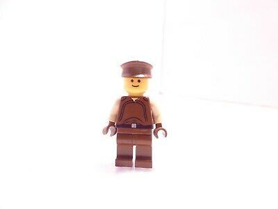 LEGO 7124 Star Wars Naboo Security Officer Minifigure+BrickArms Space Rifle NEW