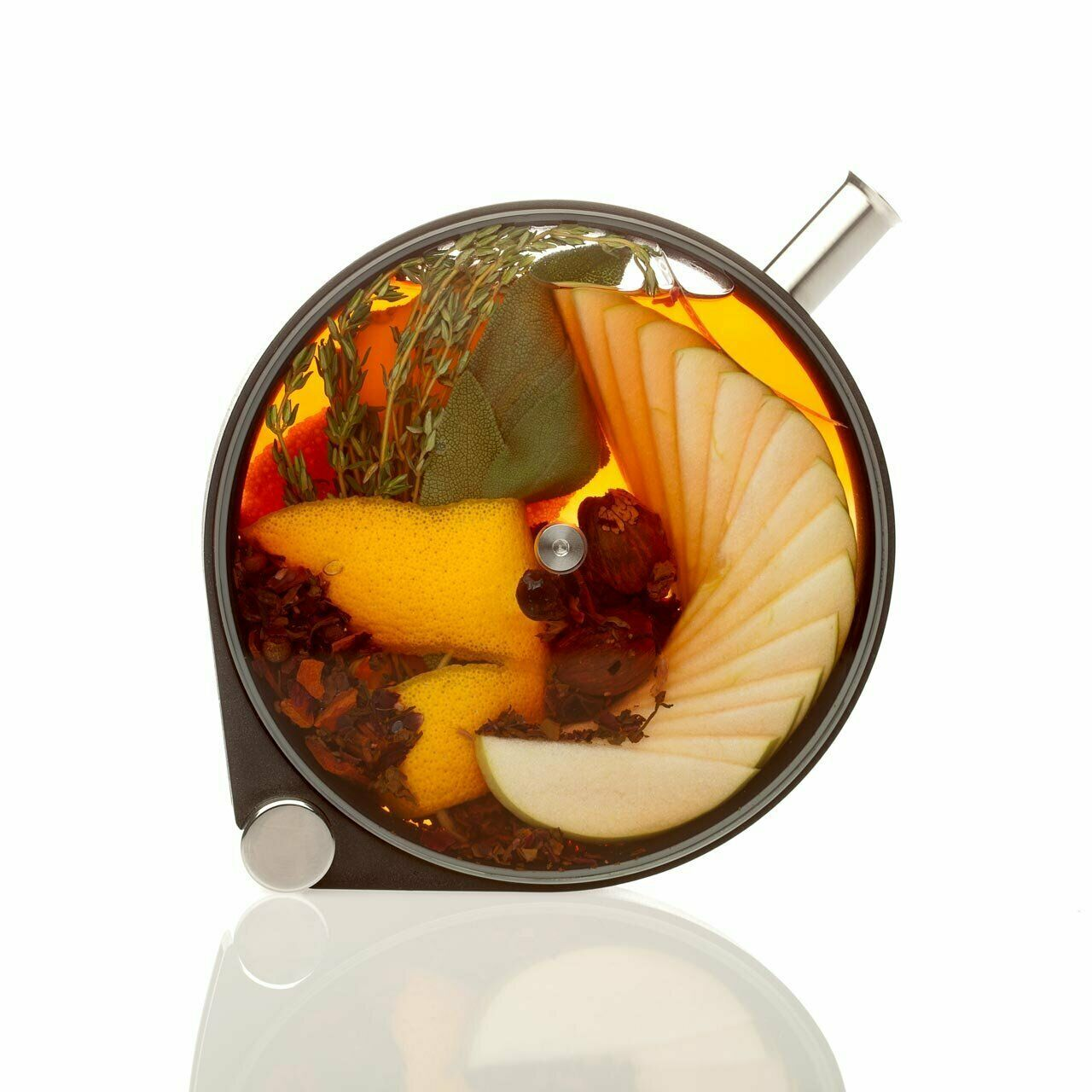 Crucial Detail The Porthole Infuser beautiful infusion vessel designed