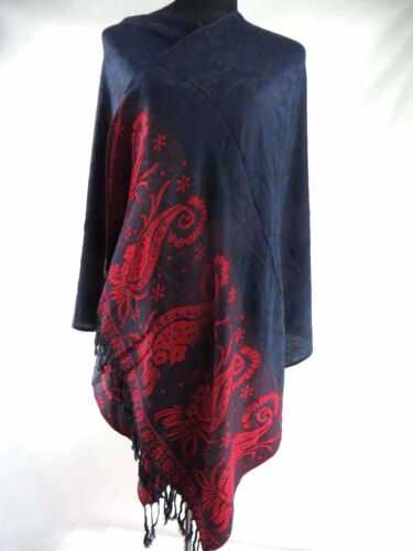 wholesale 10 Discounted Scarf vintage inspired paisley flower pashmina shawl DL5