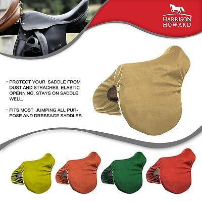HORSE SADDLE COVERS SUPER SOFT FLEECE FOR ALL MAKES OF SADDLES TWO SIZEs