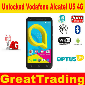 Details about Vodafone Alcatel U5 4G - Unlocked to all networks