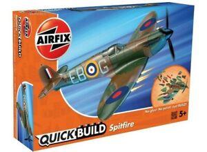 AIRFIX-QUICK-BUILD-SPITFIRE-MODEL-AIRCRAFT-KIT-WW2-MODEL-PLANE-SPITFIRE-J6000