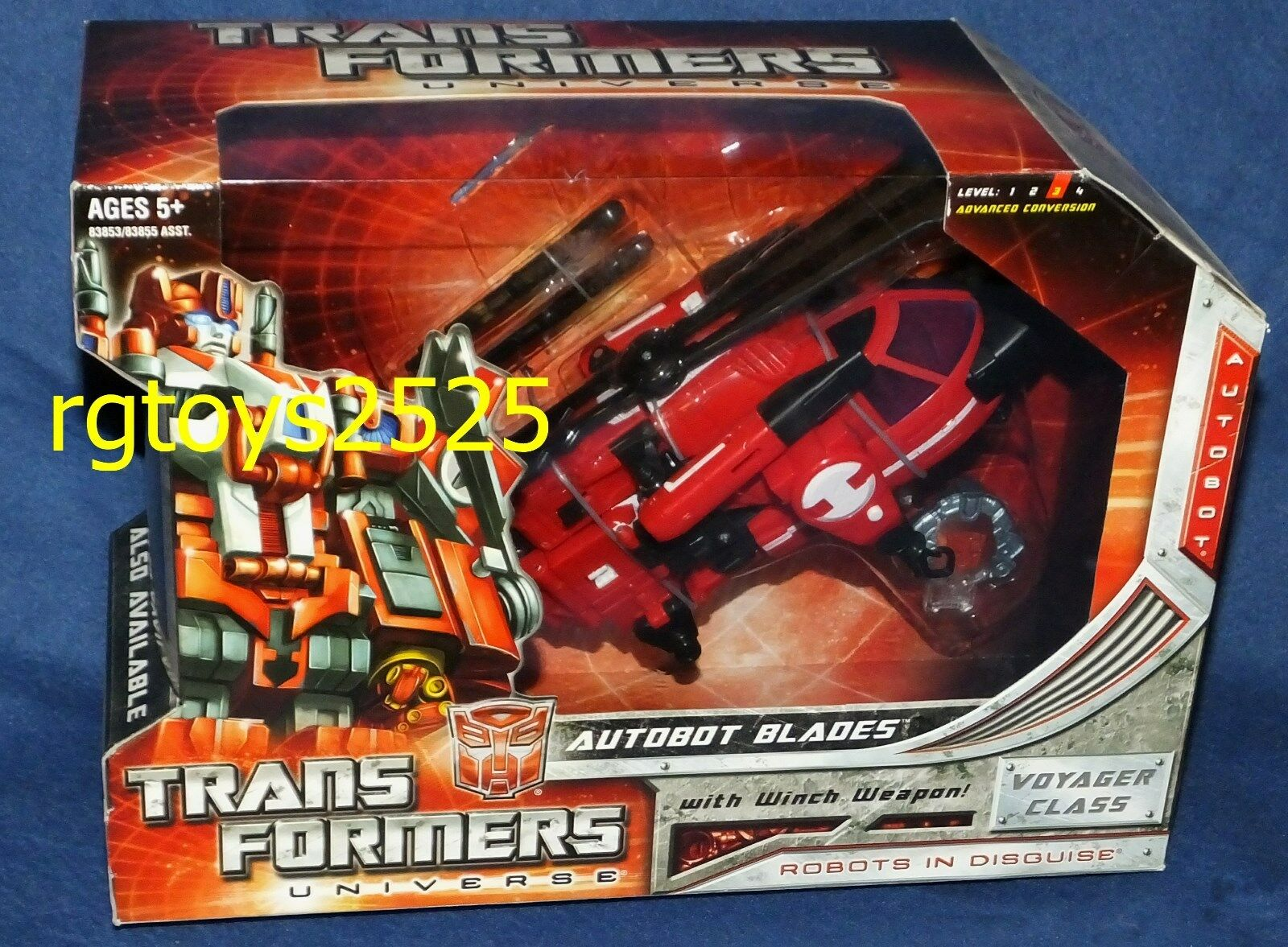 Transformers 8  Universe Universe Universe AUTOBOT BLADES nuovo Voyager classe Facory Sealed 2008 cfdbb2