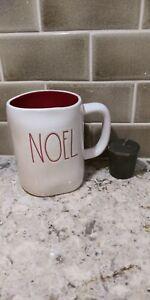 RAE-DUNN-NEW-034-NOEL-034-COFFEE-TEA-MUG-BONUS-YANKEE-CANDLE-VOTIVE-PRIORITY
