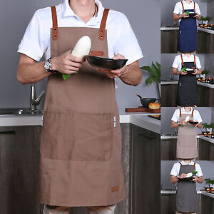 Latzschürze Küchenschürze Kochschürze Schürzen Mit Tasche Für Frauen Dame