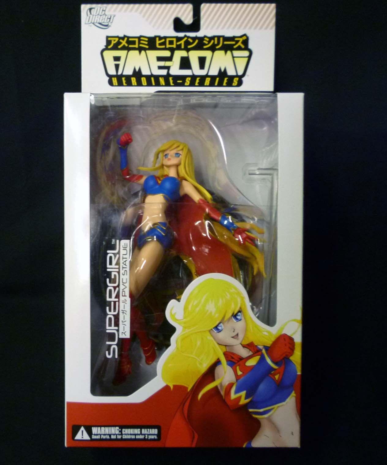 DC Comics súpergirl Estatua Pvc Ame-comi Heroine serie versión 1 Nuevo