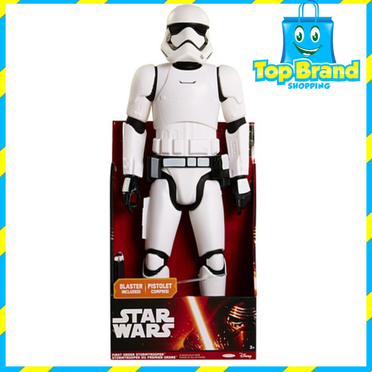 STAR WARS FIRST ORDER STORMTROOPER - 18 INCHES (45CM) TALL