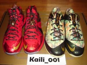 1afa2a4d663 Image is loading Nike-Lebron-Celebration-Pack-Size-12-Championship-MVP-
