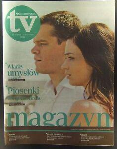 MATT DAMON - EMILY BLUNT mag.FRONT cover 13/2012 Jacques Brel - europe, Polska - Zwroty są przyjmowane - europe, Polska