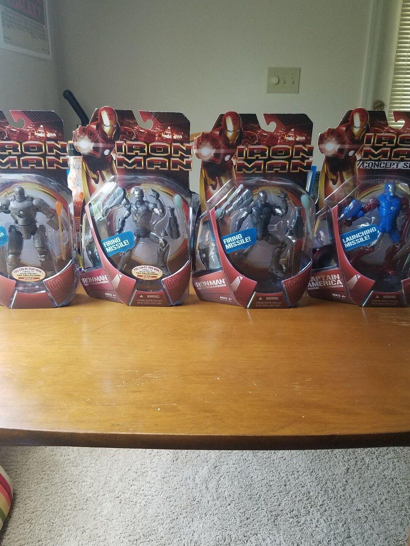 Marvel - iron - man - actiom abbildung menge avengers gap - konzept