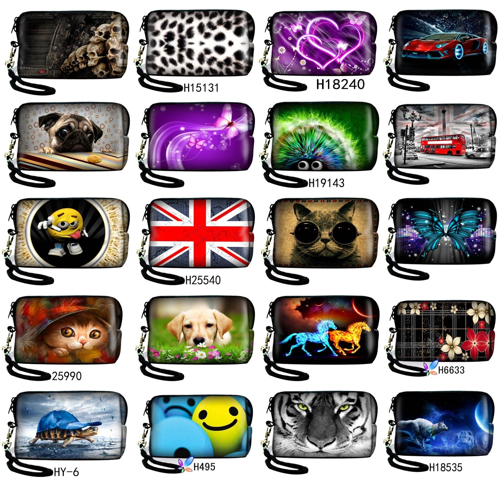Neoprene Soft Compact Camera Case Pouch Holder Bag For Panasonic LUMIX DMC