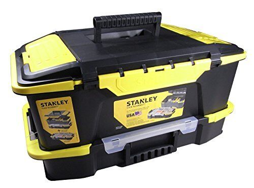 Stanley Click /& Connect 2-in-1 Deep Tool Box /& Organizer STST19900