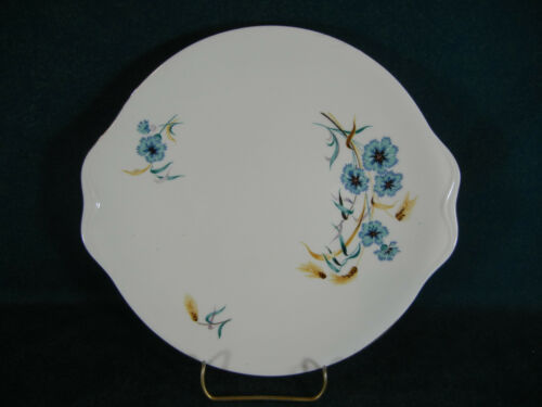 Royal Albert Cornflower Handled Cookie Cake Plate