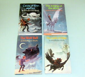 4 Books Shirley R Murphy CHILDREN YNELL WOLF BELL CAVES FIRE ICE CASTLE OF HAPE
