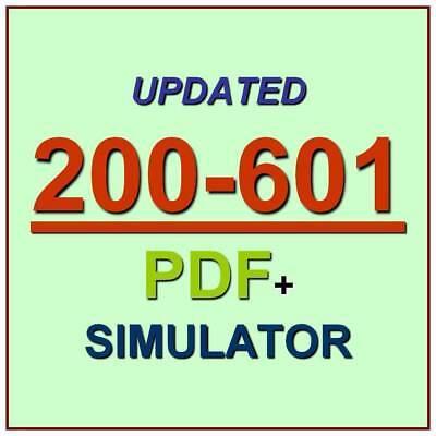 CCNA Industrial Manufacturing Cisco Technologies IMINS2 Test 200-601 Exam QA+SIM