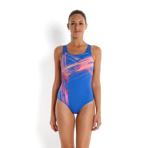 Speedo Placement Poweback 2AF Damen Badeanzug Schwimmanzug
