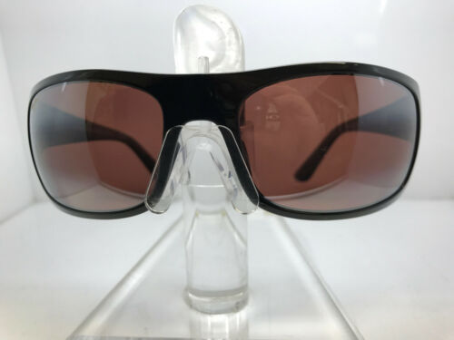 NEW! AUTHENTIC MAUI JIM SUNGLASSES HALEAKALA R419-02 GLOSSY BLACK//MAUI ROSE POL