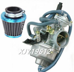 Details about Carburetor With Air Filter for Honda CRF150F CRF150 Hand Choke