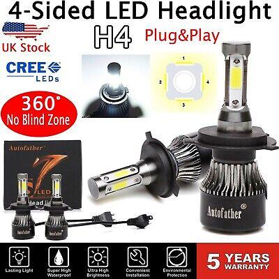 CREE H4 9003 HB2 2350W 352500LM LED Headlight Conversion Bulbs Kit Hi//Low 6000K
