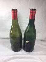 2 Empty 1966 Paullac-Medoc Bordeaux Wine Bottles***Free Shipping***