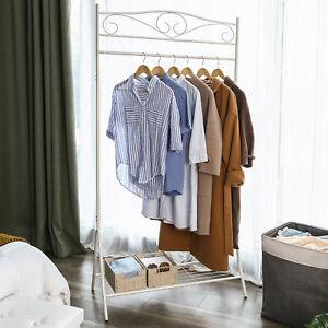 Kleiderstander-Kleiderstange-Garderobenstander-Metall-Ladeneinrichtung-173-cm