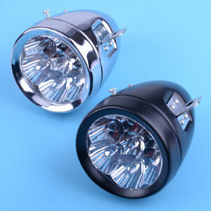 7LED-Vintage-Bicycle-Bike-Electric-Scooter-Light-Headlight-Front-Retro-Head-Lamp