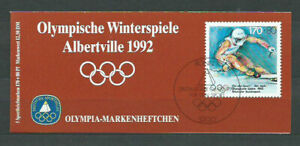 Alemania-Federal-Mail-1992-Yvert-1422-Id-MNH-Games-Olympic-Barcelona
