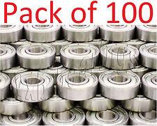 100 Skateboard Ball Bearings 608zz Skateboardinline Wholesale Lots 8mm 22mm Od
