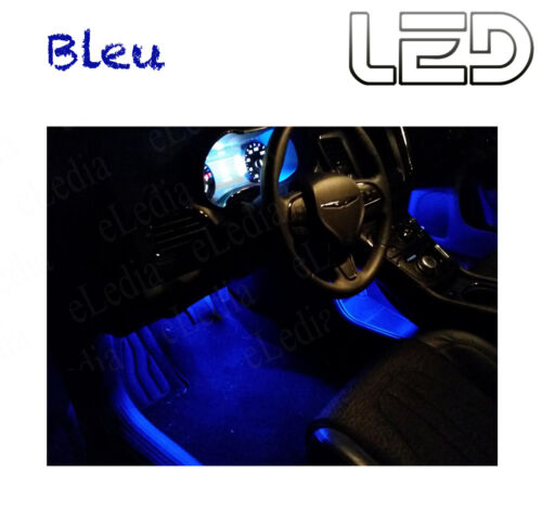 BMW E90 E91 316 318 320 325 330 2 Ampoules BLEU Blue LED  Pieds Tapis Footwell