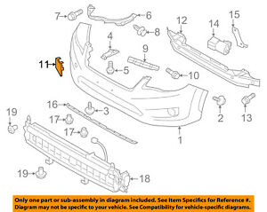 Image Is Loading Subaru Oem 13 15 Xv Crosstrek Front Per