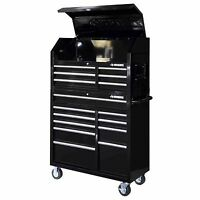 Husky Rolling Tool Cabinet Box 16 Drawer Chest Tools Toolbox Mechanic Storage