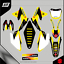 Grafiche-personalizzate-SUZUKI-DRZ-250-Motard-enduro-RiMotoShop-Ultra-grip miniatura 4