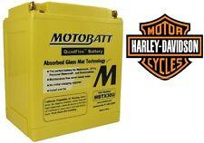 Batería MOTOBATT Sin Mantenimiento AGM Harley Sportster Bajo Costumbre Nightster