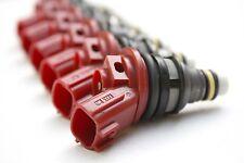 6 - 1000cc JECS Fuel Injectors SKYLINE RB25 Matched Set E85 300ZX Side Feed