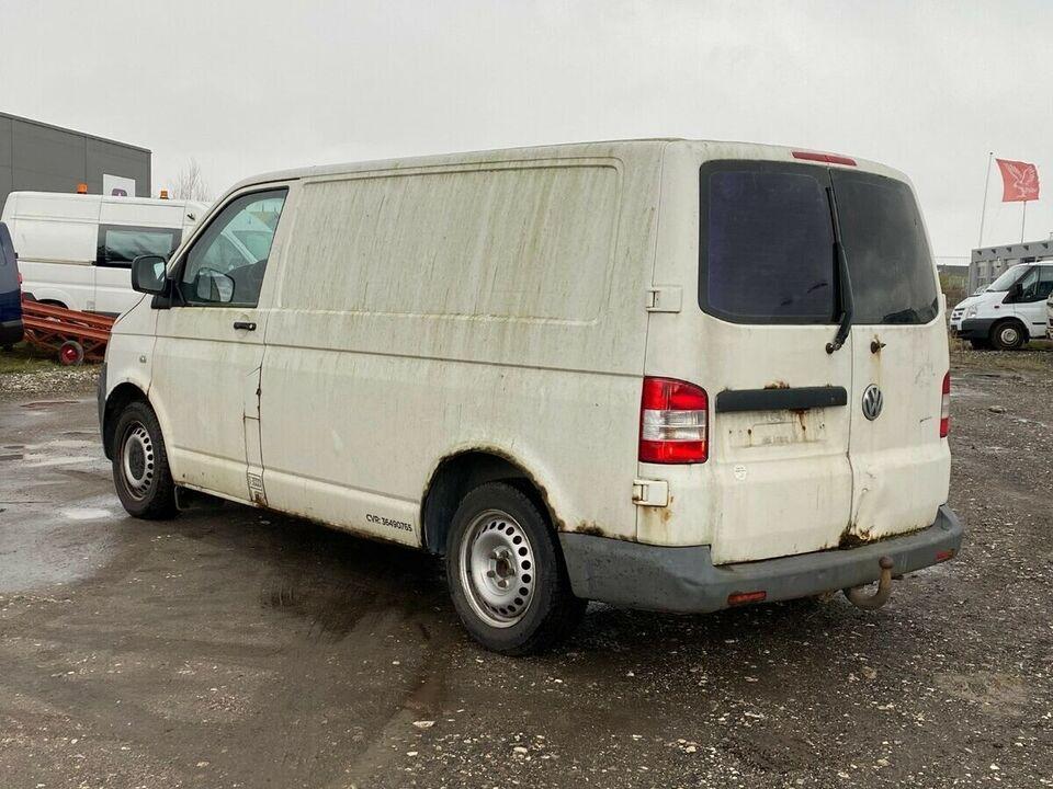 VW Transporter 1,9 TDi Kassevogn kort Diesel modelår 2003