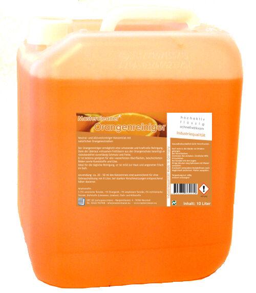 Limpiador Limpiador Limpiador de naranja concentrado con aceite de naranja super rica sólo 3,98   L eb94f0