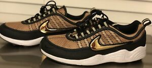 e92ba52b4ed5 NIKE NIKELAB AIR ZOOM SPRDN SPIRIDON 849776-770 METALLIC GOLD BLACK ...
