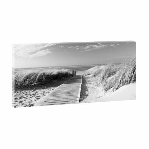 Nordseestrand Bilder Poster Leinwand Strand /&Meer Wandbild XXL 160cm*80cm 301 sw